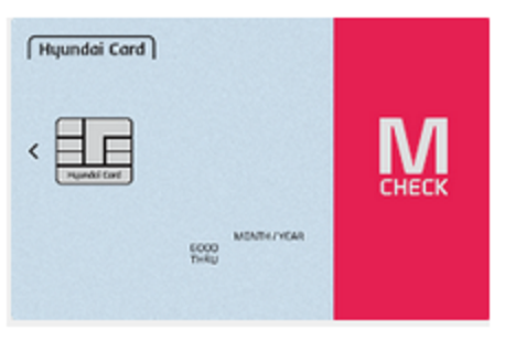 현대카드 M 체크카드