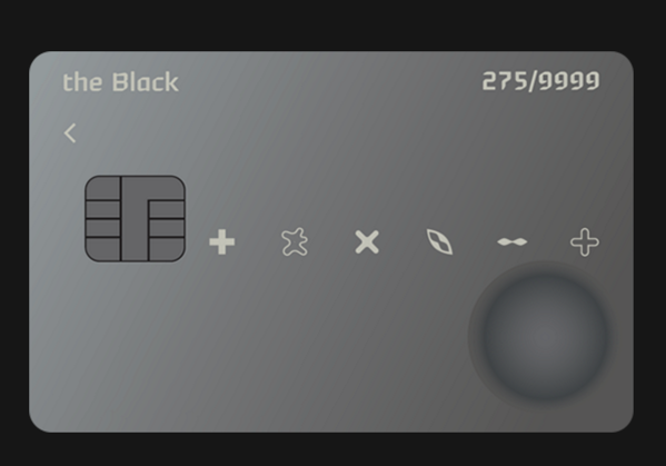 현대카드 블랙